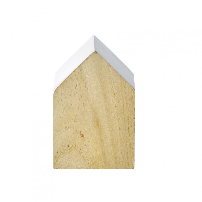Objet de décoration en bois en forme de Maison  Bloomingville