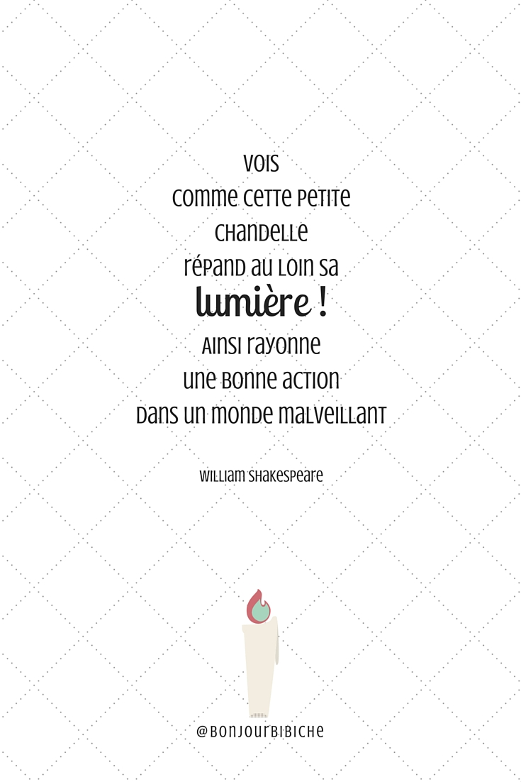 Citation lumière Shakespeare #parismonamour #peaceandlove