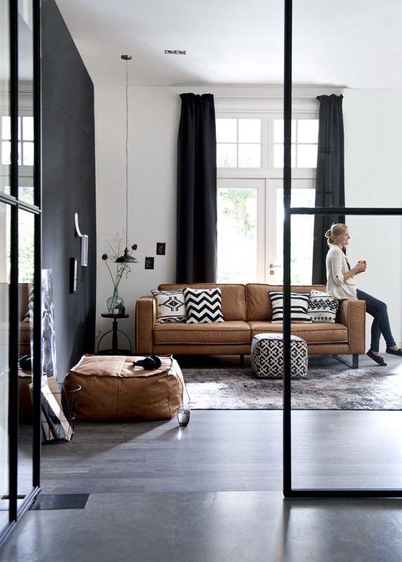 Le retour du canapé en cuir
