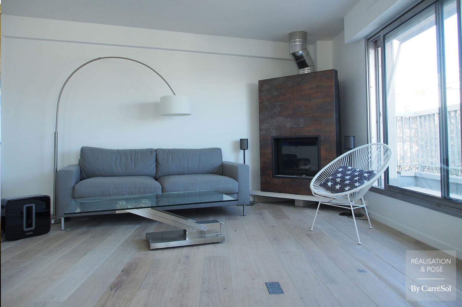 choisir un parquet perfect comment choisir son parquet blanchi point de hongrie mur noir. Black Bedroom Furniture Sets. Home Design Ideas