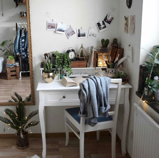 Small Bathroom Decor Tumblr: Décoration Bureau : 10 Bureaux Qui Donnent Envie De (re