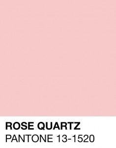Rose Quartz Pantone 13-1520