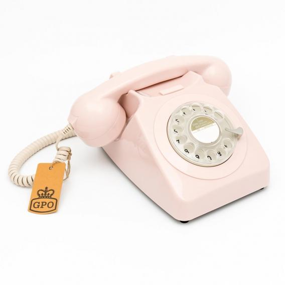 TELEPHONE FIXE ROSE @bonjourbibiche