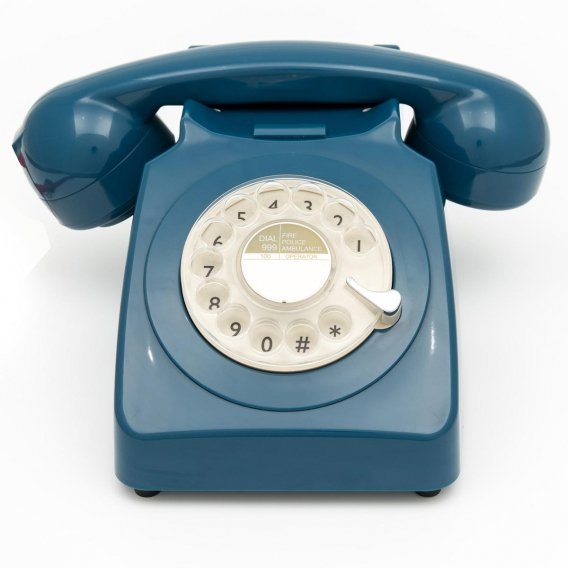 TELEPHONE VINTAGE BLEU @bonjourbibiche
