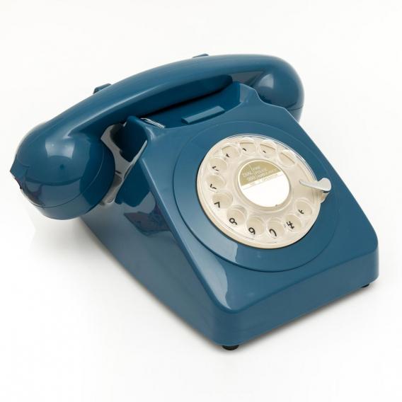 TELEPHONE RETRO BLEU @bonjourbibiche