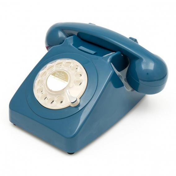 TELEPHONE FIXE BLEU @bonjourbibiche
