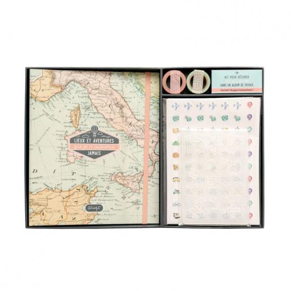 Kit Scrapbooking Voyage @bonjourbibiche