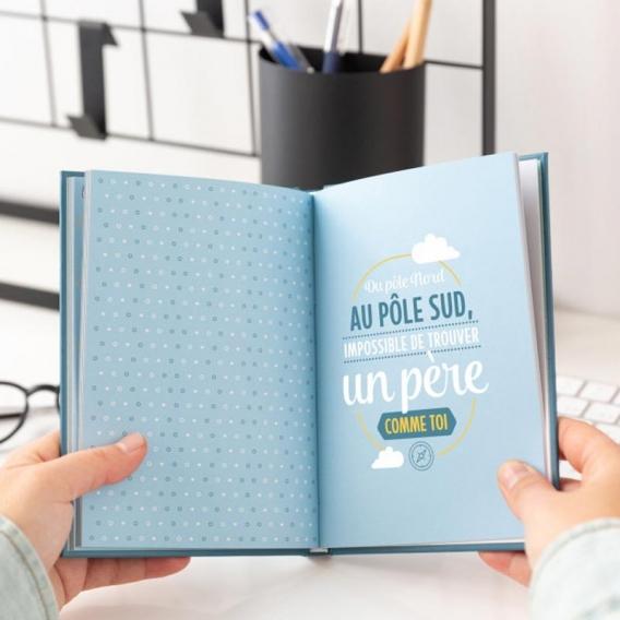 FETE DES PERES livre personnalisé @bonjourbibiche