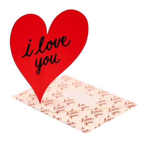 Carte en forme de coeur @bonjourbibiche