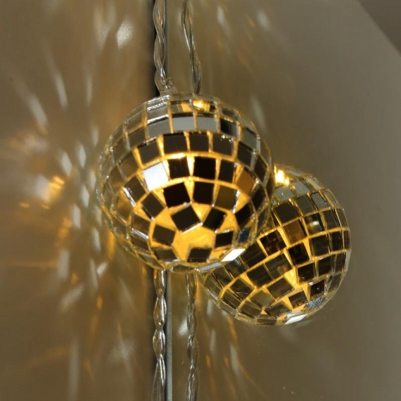 Disco String Lights @bonjourbibiche