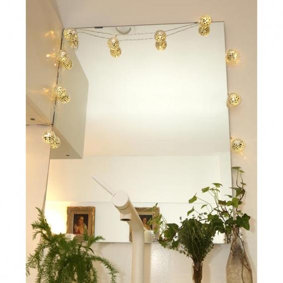 Guirlande lumineuse Miroir @bonjourbibiche