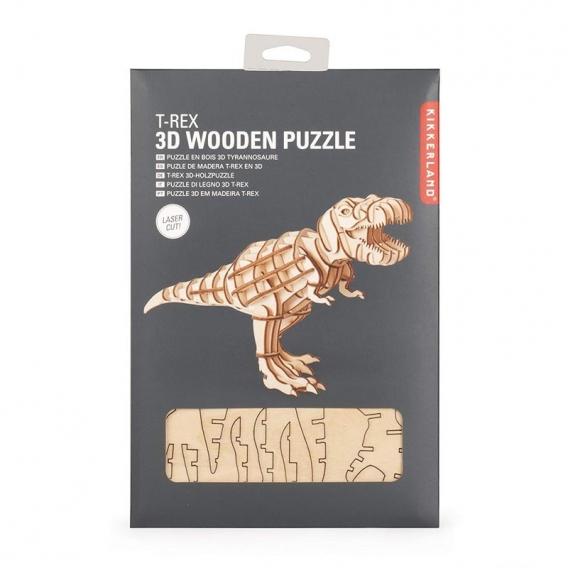 T Rex 3D Wooden Puzzle @bonjourbibiche