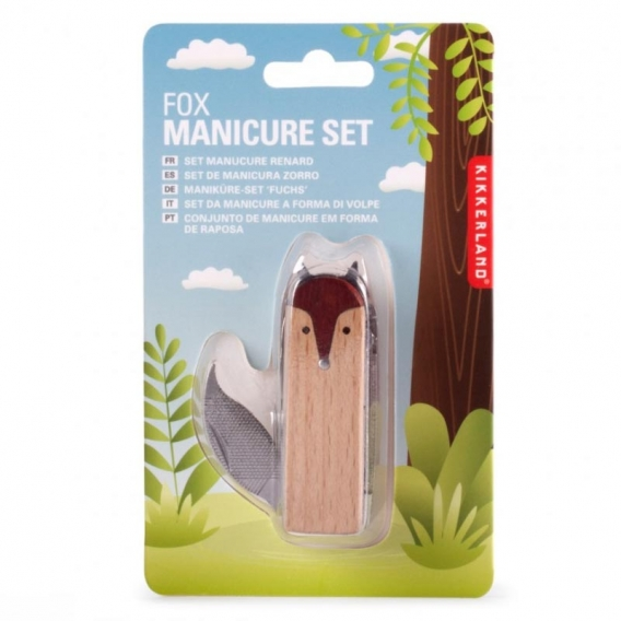 Fox Manicure Set @bonjourbibiche