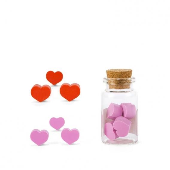 Heart Erasers @bonjourbibiche