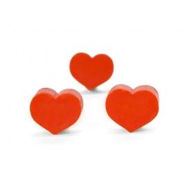 Gomme en forme de coeur @bonjourbibiche