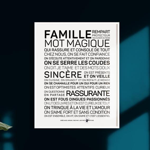Jolie carte Famille @bonjourbibiche