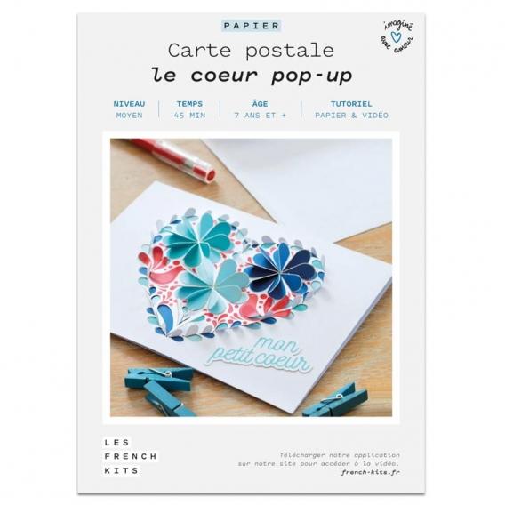 Carte Coeur Pop up @bonjourbibiche