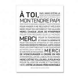 Carte Papy @bonjourbibiche