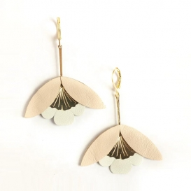 Boucles d'oreilles Ginkgo @bonjourbibiche