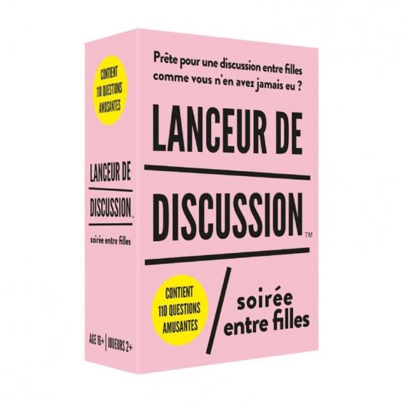 Lanceur de discussion Soirée entre filles @bonjourbibiche