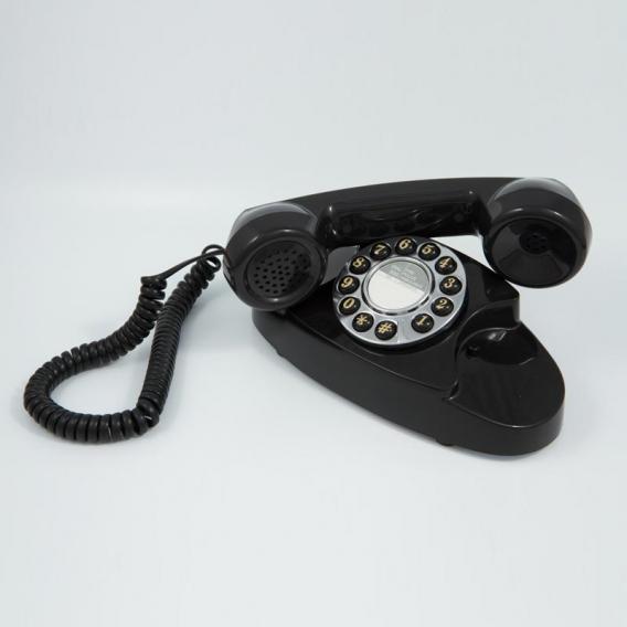 Téléphone rétro noir @bonjourbibiche