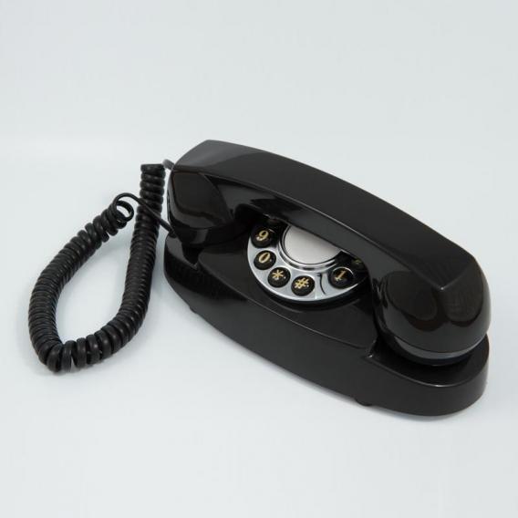 Téléphone vintage noir @bonjourbibiche