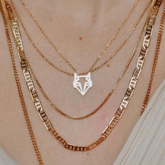 Collier Renard bijoux @bonjourbibiche