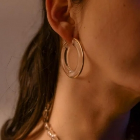 Boucles d'oreilles transparentes @bonjourbibiche