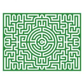 Puzzle Labyrinthe @bonjourbibiche