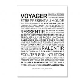 Carte postale Voyage @bonjourbibiche