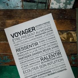Carte de voeux Voyage @bonjourbibiche