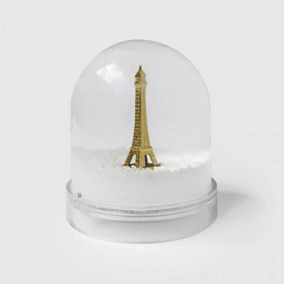 Boule de neige Paris made in France @bonjourbibiche