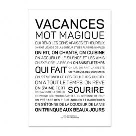 Carte postale Vacances @bonjourbibiche
