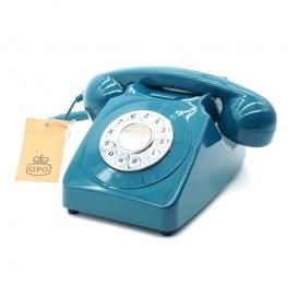 Téléphone vintage bleu @bonjourbibiche
