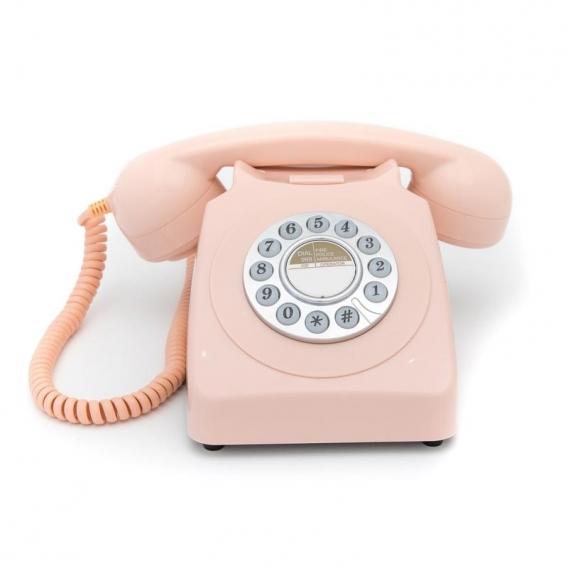 Téléphone vintage rose @bonjourbibiche