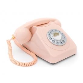 Téléphone rétro rose @bonjourbibiche