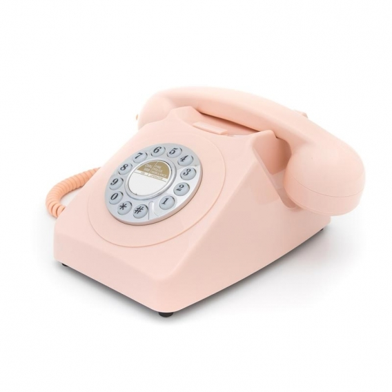 Téléphone fixe rose @bonjourbibiche