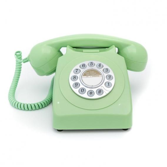 TELEPHONE VINTAGE VERT @bonjourbibiche