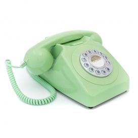 TELEPHONE RETRO VERT @bonjourbibiche