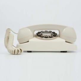 Téléphone fixe design rétro @bonjourbibiche