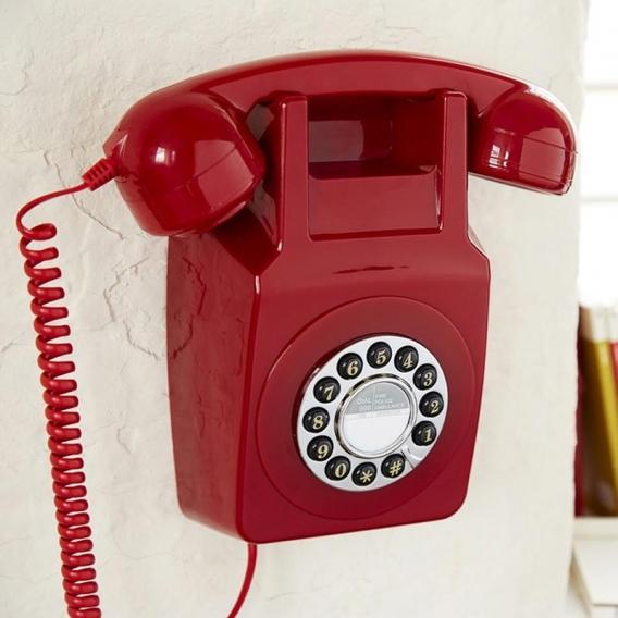 Téléphone fixe mural @bonjourbibiche