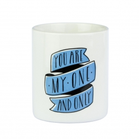 Mug You are my one and only, by Mr Wonderful @bonjourbibiche