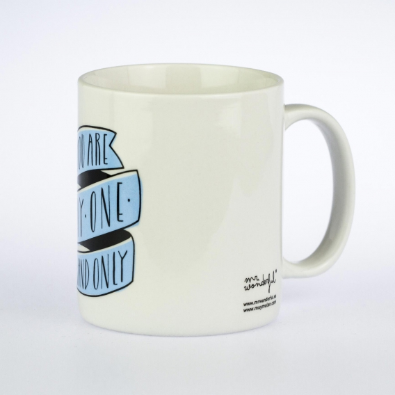 Mug pour amoureux You are my one and only, by Mr Wonderful @bonjourbibiche