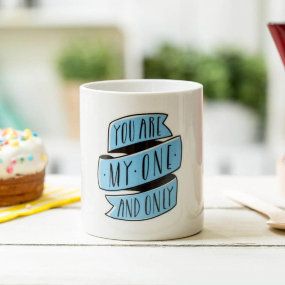 Tasse amoureux You are my one and only, by Mr Wonderful @bonjourbibiche