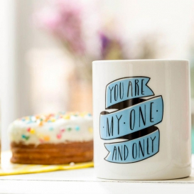 Mug Amour You are my one and only, by Mr Wonderful @bonjourbibiche
