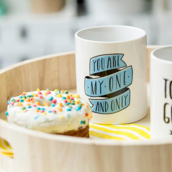 Mug pour couple You are my one and only, by Mr Wonderful @bonjourbibiche