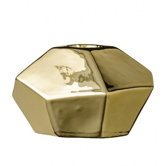 Bougeoir Diamant doré Bloomingville @bonjourbibiche