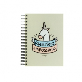 Cahier Licorne Mr Wonderful @bonjourbibiche