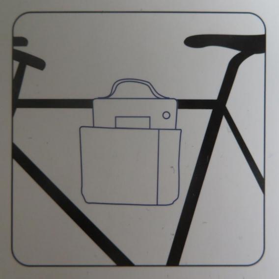 Sac pour vélo homme @bonjourbibiche