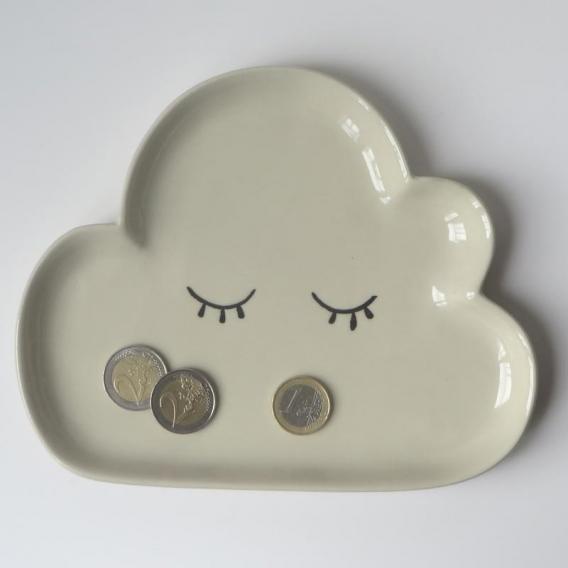 Assiette nuage @bonjourbibiche